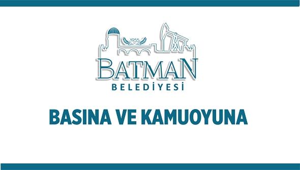 Batman belediyesi ile Batman valiliğin logo atışması