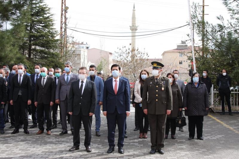 Çanakkale Şehitleri Ergani'de Anıldı
