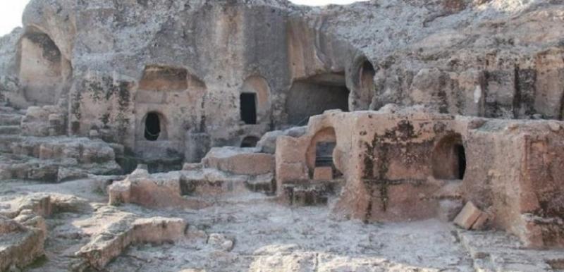 Cilalı Taş Devrinden izler taşıyan yer: Hilar Mağaraları