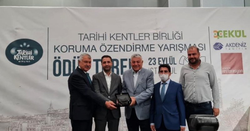 """Diyarbakır Surları """"Diriliş"""" ödülünü aldı"""