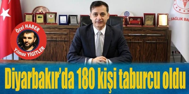 Diyarbakır'da 180 kişi taburcu oldu