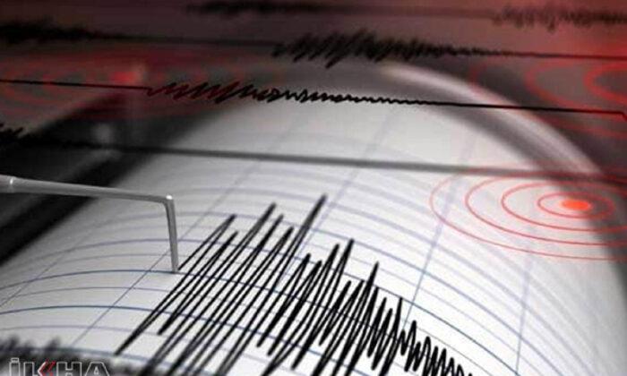 Diyarbakır'da 3.3 büyüklüğünde deprem