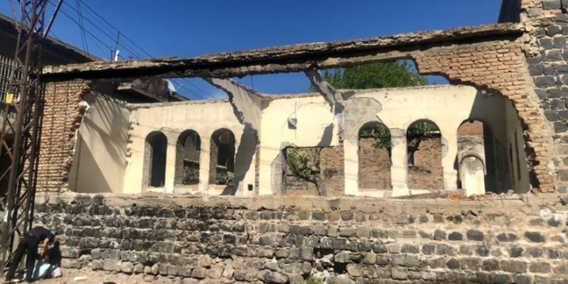Diyarbakır'da kültür evi için çalışmalar başladı