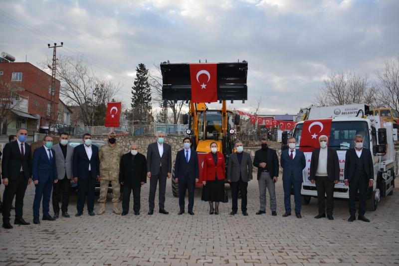 Ergani Belediyesi araç filosunu genişletti