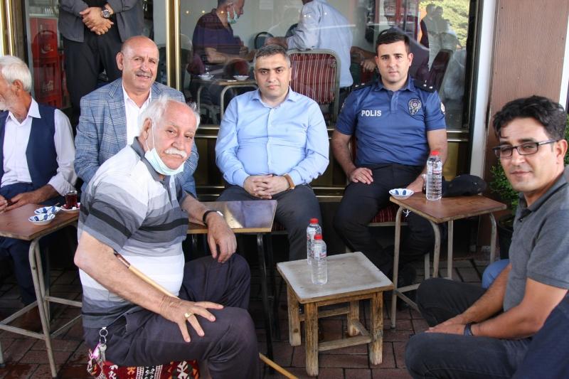 Ergani Kaymakamı Karaaslan'dan Esnaf Ziyareti