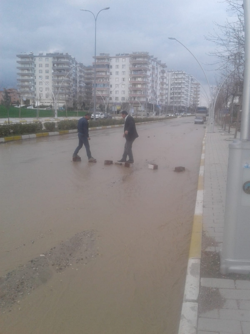 Ergani Sular Altında kaldı