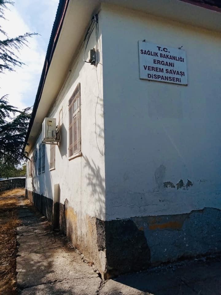 Ergani Verem Savaş Dispanserinde Hırsızlık!
