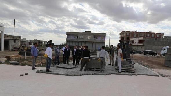 Ergani'de 37 bin metrekare alana parke taşı döşenecek