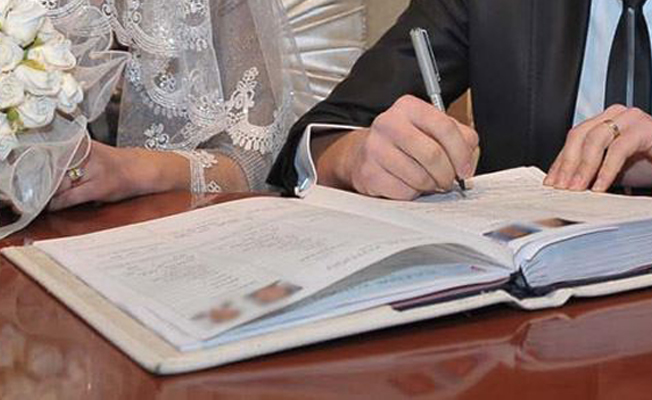 Ergani'de 423 çift nikah kıydı