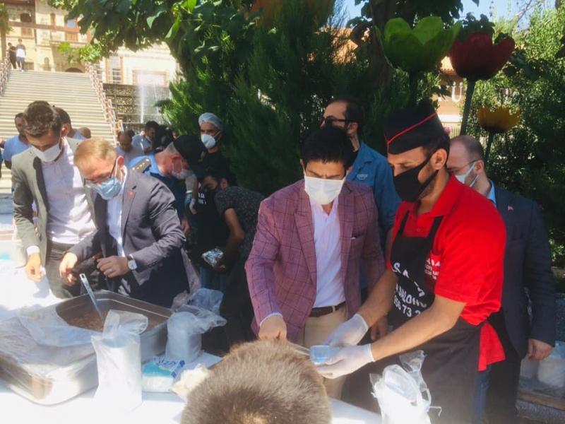 Ergani'de aşure etkinliği düzenlendi