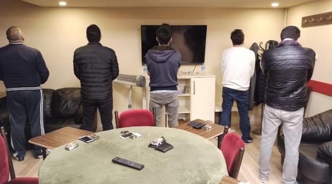 Ergani'de bir kırathanede 12 kişiye 37 bin 800 lira ceza uygulandı