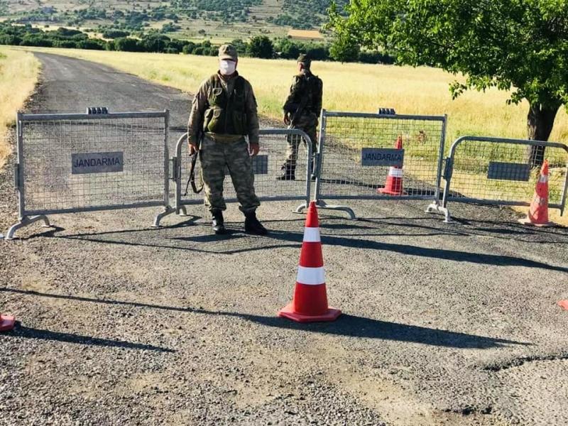 Ergani'de bir mahalle karantinaya alındı