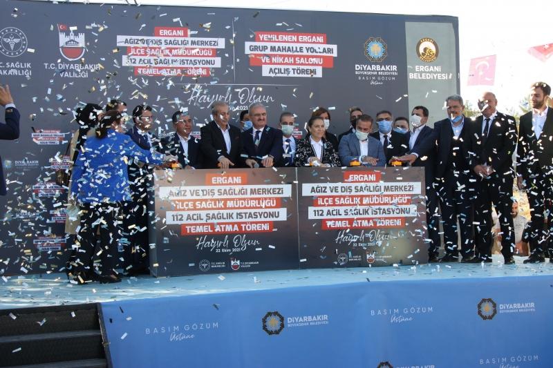 Ergani'de dev projeler başladı