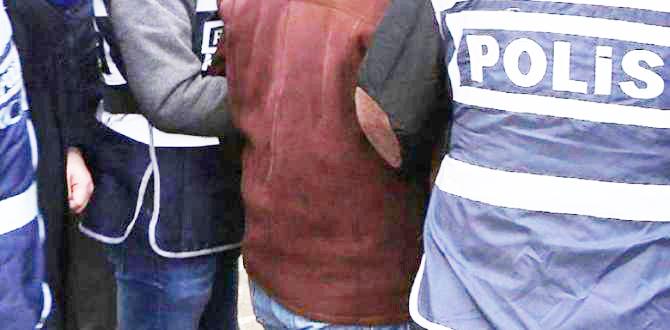Ergani'de haklarında yakalama kararı olan 9 şüpheli tutuklandı