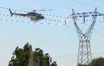 Ergani'de 'helikopter tellere takıldı' paniği