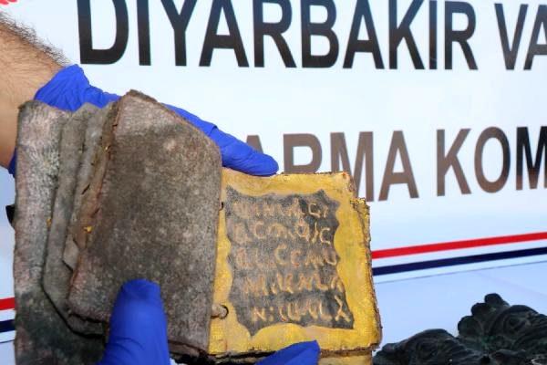 Ergani'de İbranice yazılmış kitap ele geçirildi