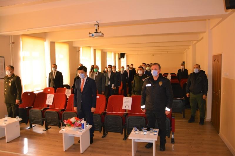 Ergani'de İstiklal Marşı'nın kabulü töreni