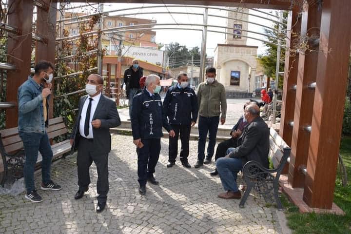 Ergani'de Kovid-19 denetimi yapıldı