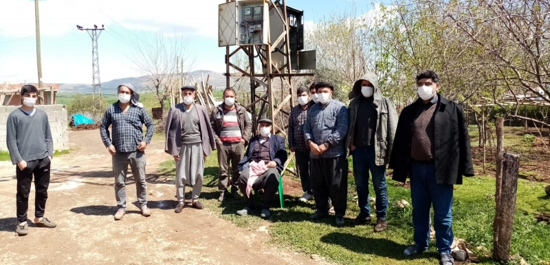 Ergani'de köylüler DEDAŞ'ı protesto etti