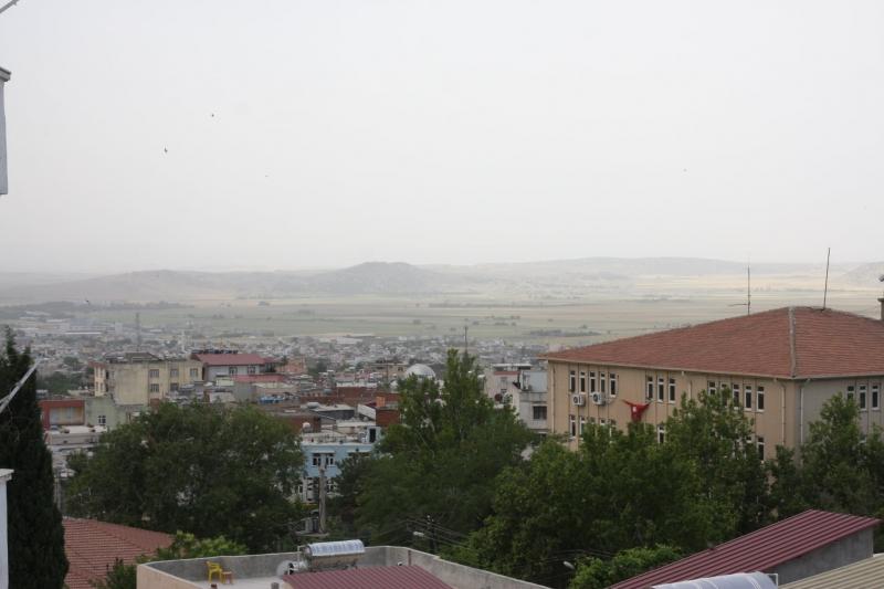 Ergani'de oluşan toz bulutu hayatı olumsuz etkiledi