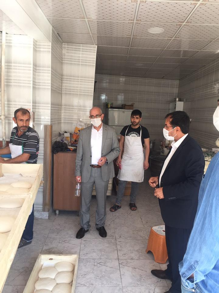 Ergani'de 'Sağlık İçin Hepimiz İçin' denetimi yapıldı
