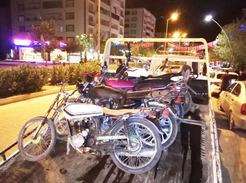 Ergani'de Trafik Denetimi Yapıldı