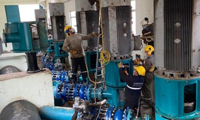 Ergani'nin su sorununu çözülüyor