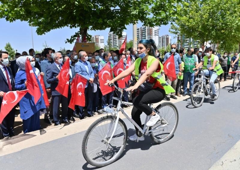 """""""Fetih 639 Bisiklet Turu"""" düzenlendi"""