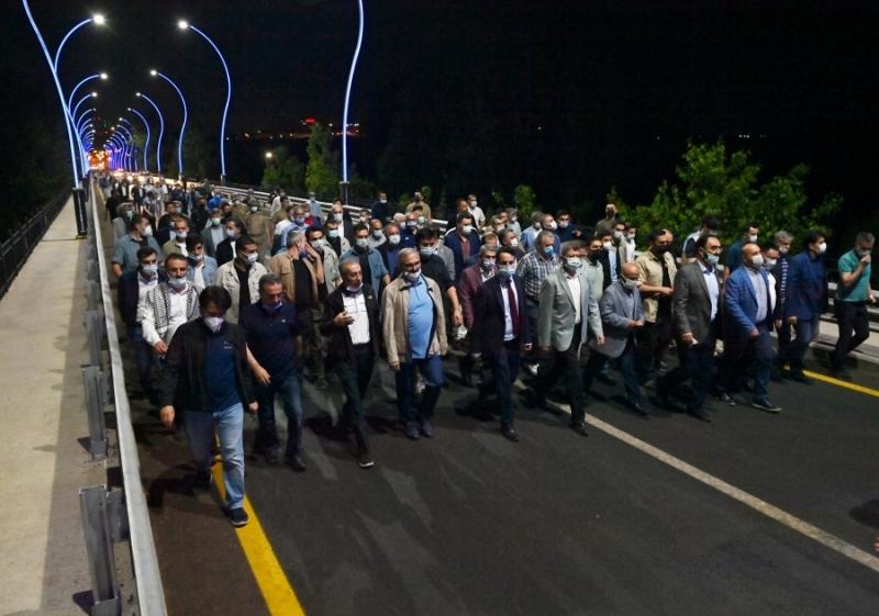 """""""Fetih Yürüyüşü"""" gerçekleştirildi"""