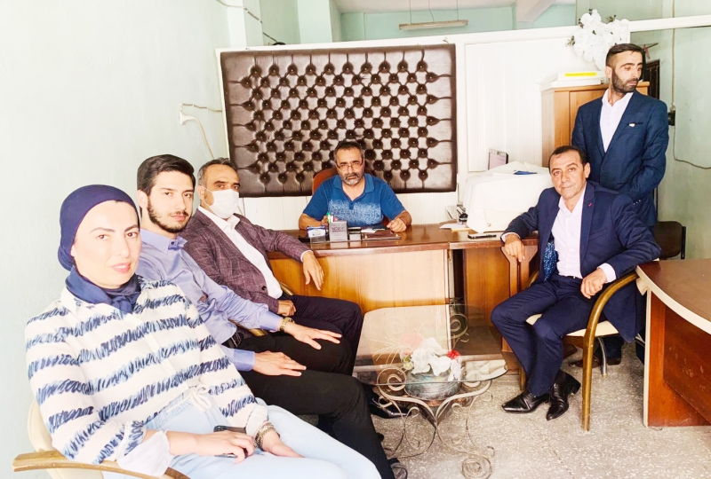 Gelecek Partisi'nden gazetemize ziyaret