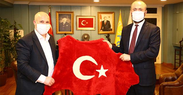Güvenlik-İş Sendikası'ndan PTT Genel Müdürü Gülten'e Ziyaret