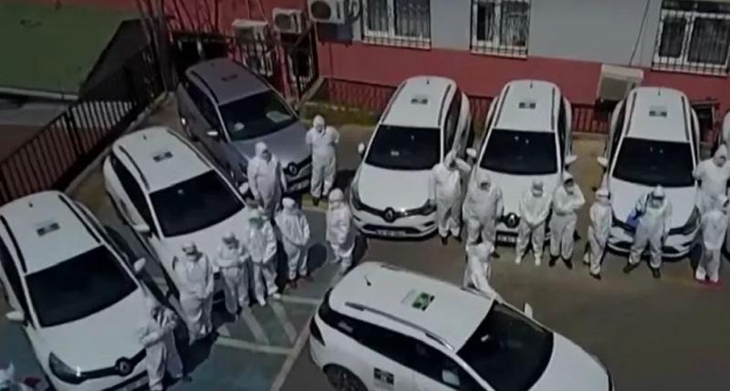 İstanbul'un filyasyon ekipleri görüntülendi