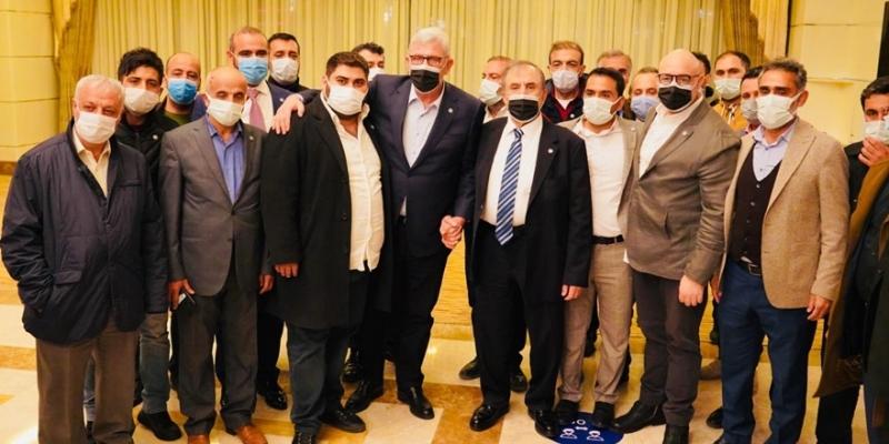 İYİ Parti heyeti, Batman ve Mardin'de esnafın sorunlarını dinledi