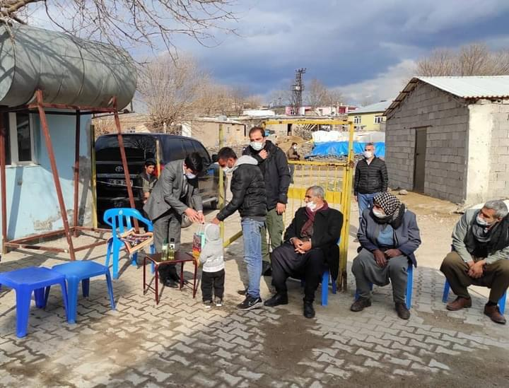 Kaymakam Öztürk'ten köy ziyareti