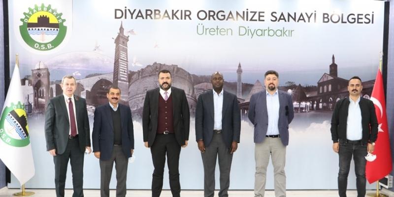 Kenyalı iş insanından Diyarbakır OSB'ye ziyaret