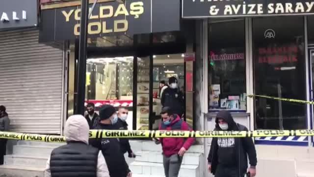Kuyumcudaki soygun girişiminde iş yeri sahibi öldürüldü
