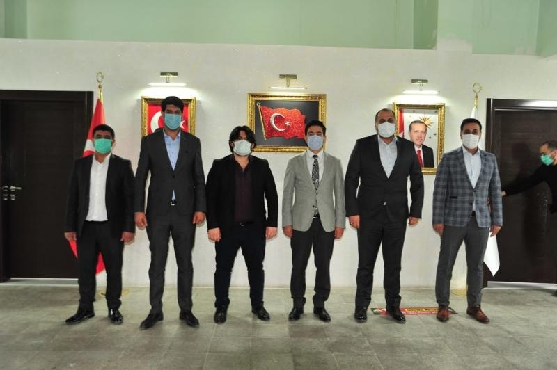Levent Yücel'den Ergani'ye ziyaret