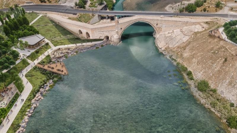 Malabadi Köprüsü'nün görkemi ortaya çıkarılacak
