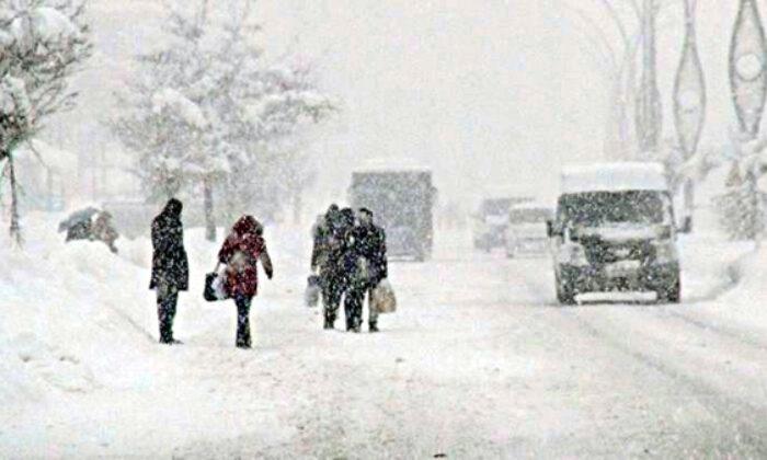 Meteorolojiden Diyarbakır için yoğun kar yağışı uyarısı