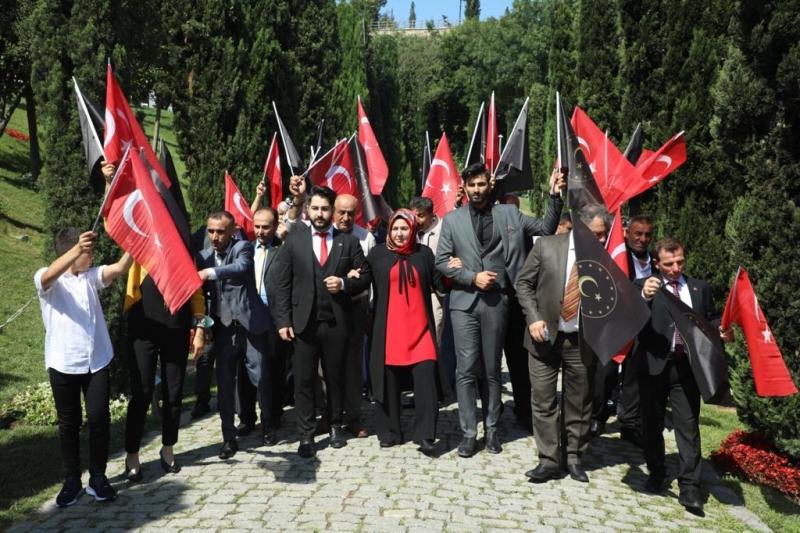Şahin, Demokrasi ve Milli Birlik Günü etkinliklerine katıldı