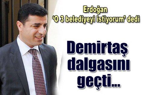 Demirtaş, Erdoğan'la dalga geçti