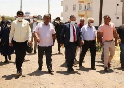 Başkan Beyoğlu , Sur'un Dış Mahallelerinde Vatandaşlarla Buluştu