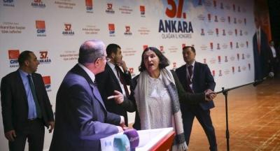 CHP Ankara Kongresi'nde Tevfik Koçak'ın cinsiyetçi söylemi tepki çekti