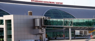 Diyarbakır havalimanı uçuşa kapandı!