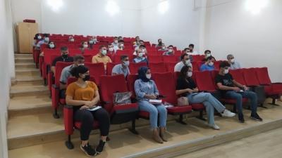 Diyarbakır'da hizmet sektörü çalışanlarına hijyen eğitimi
