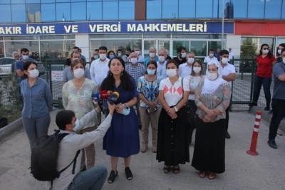 DİYARBAKIR'DA 'KAYYUM İPTAL DAVASI' GÖRÜLDÜ
