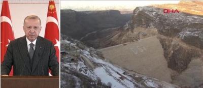 Ergani Barajı ile Ergani İçme Suyu Arıtma Tesisi açılışı yapıldı