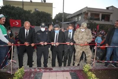 Ergani Belediyesi park ve çocuk oyun alanı açılışı gerçekleştirdi