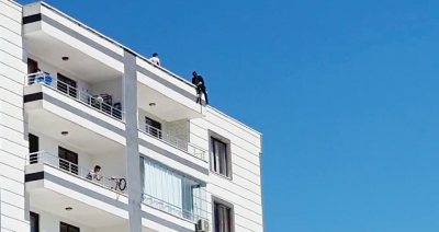 Ergani ilçesinde intihar girişimi