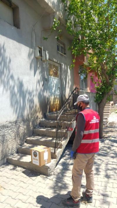 Ergani Vefa Sosyal Destek Grubundan 3038 İhtiyaç Sahibi Aileye Hizmet